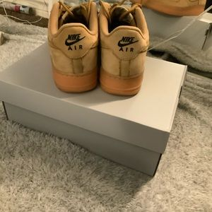 Nike Shoes - Air Force Ones Wheats
